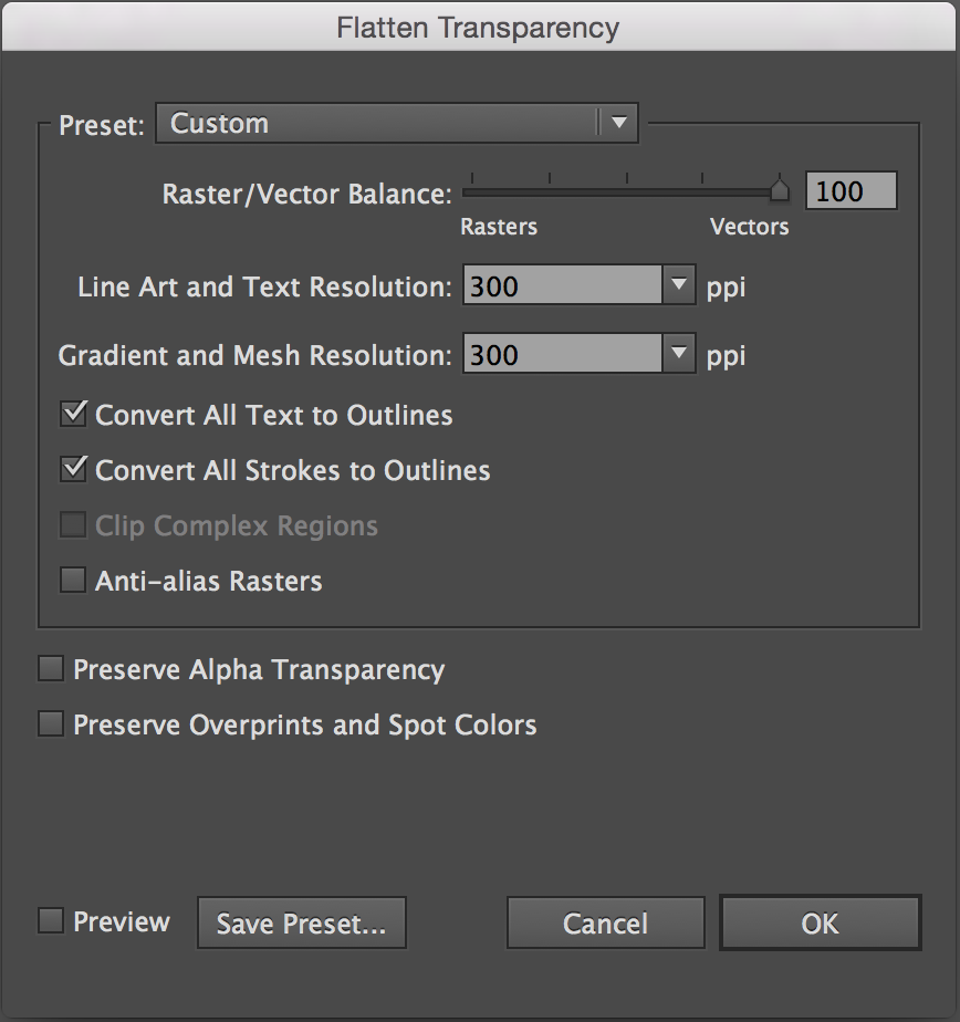 How to Flatten Transparency in Adobe Illustrator