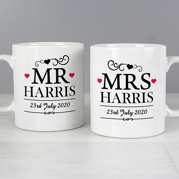 Mr Mrs Mug