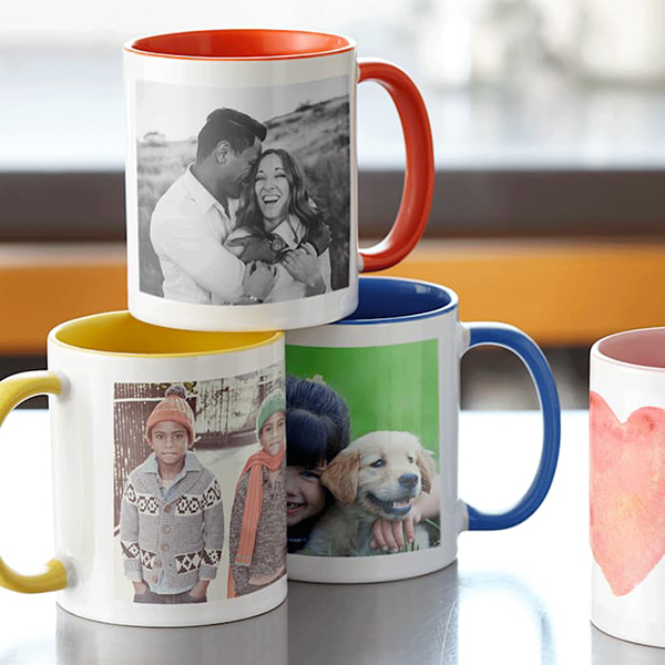 personalised colour mug