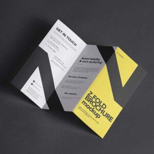Z-fold Brochures