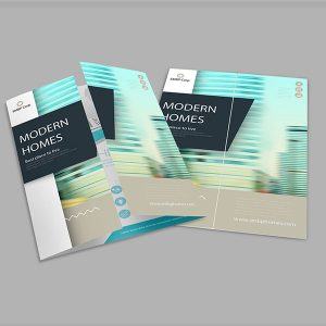 gate-fold brochures print