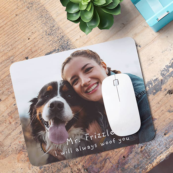 mouse pad pet photo