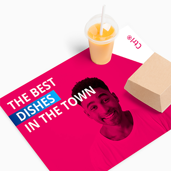 restaurant placemat printing