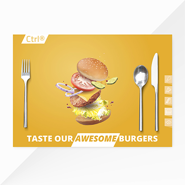 printed placemats