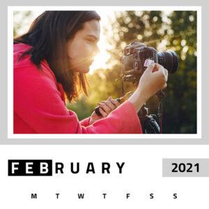 Custom photo wall calendar